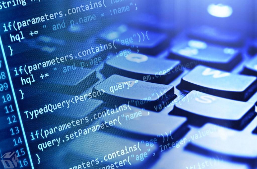 Software Development Column, Writing Code, Keyboard
