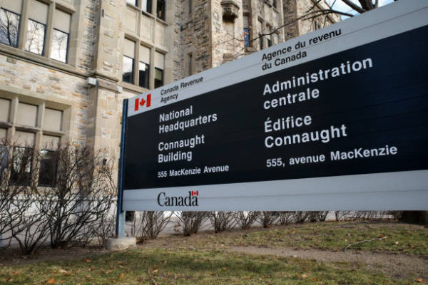 A sign for the National Headquarters of the Canada Revenue Agency (CRA). Every year, Canadians lose millions to tax fraud.