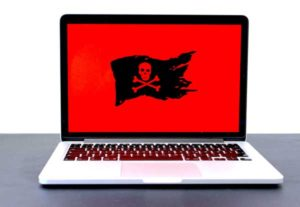 Ransomware on a laptop. Canada Is At Risk Of Ransomware Attacks On Critical Infrastructure